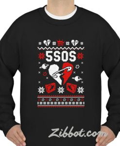 5 seconds of summer christmas sweatshirt