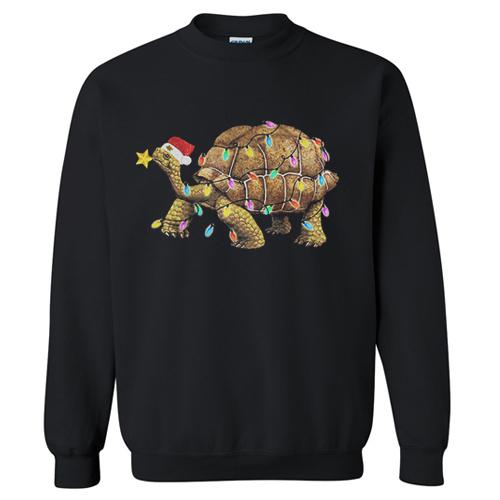 Christmas Turtle sweatshirt