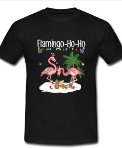 Flamingo ho ho Christmas shirt
