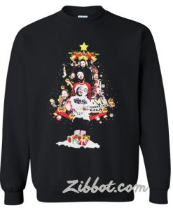 Post Malone Christmas Tree sweatshirt