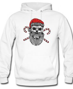 Santa skull Christmas hoodie
