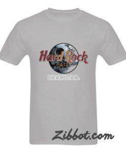 hard rock cafe death star tshirt
