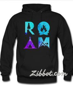 room camping hoodie