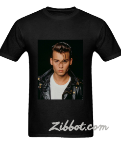 usa young johnny depp t shirt