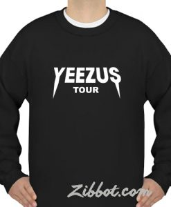 yeezus tour sweatshirt
