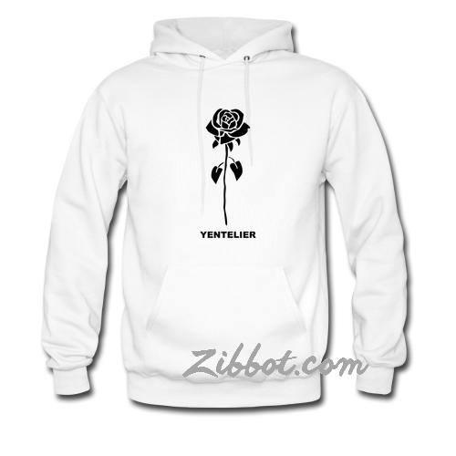 yentelier rose hoodie