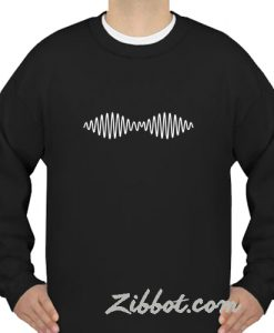 arctic monkey logo sweatshirt