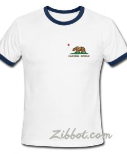 california republic ring tshirt