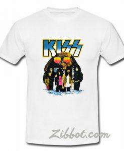 vintage 1990s kiss world tour tshirt