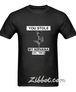 you stole my nirvana t shirt