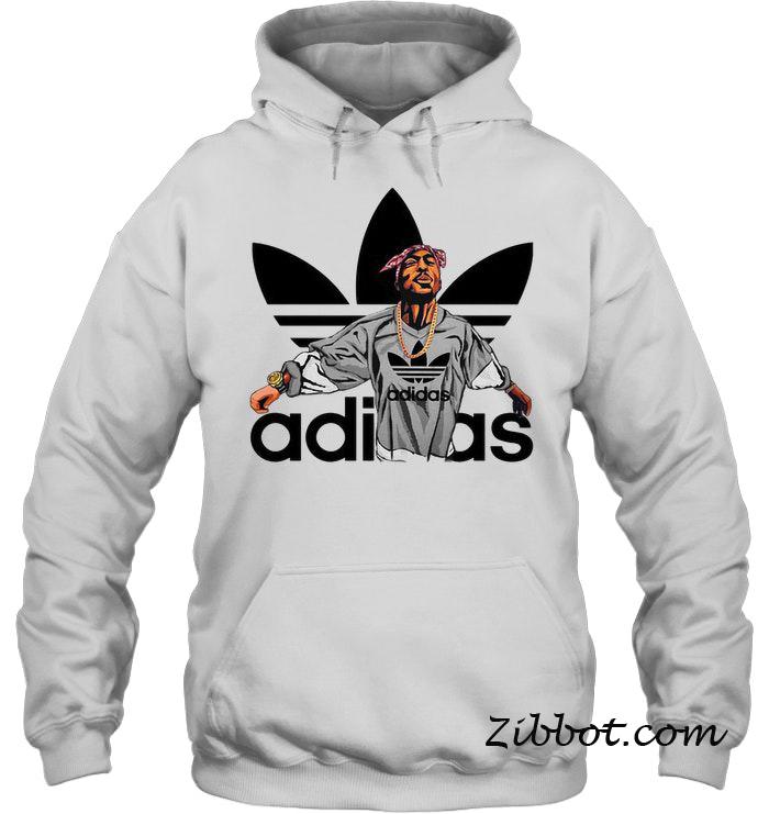 2pac Adidas hoodie