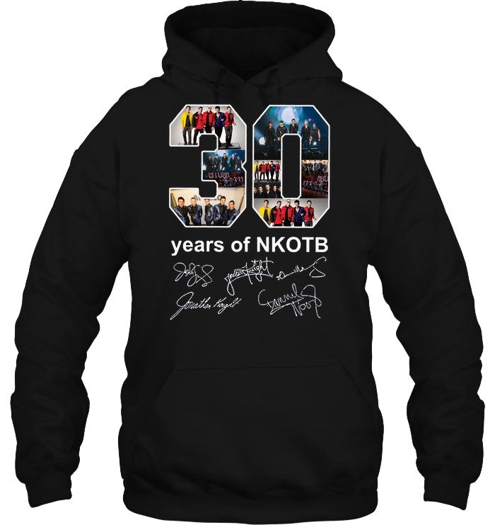 30 Years Of NKOTB New Kids On The Block hoodie