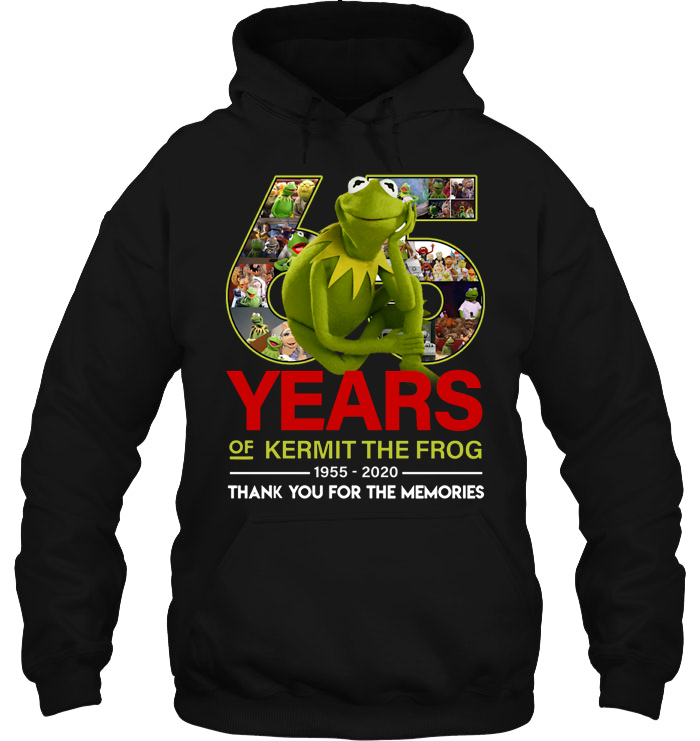 65 Years Of Kermit The Frog hoodie