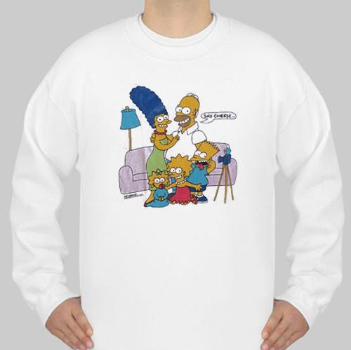 Bart Simpson sweatshirt