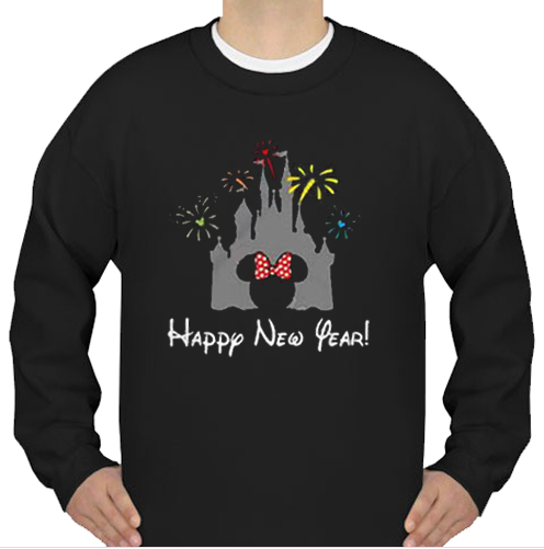 Castle New Year 2020 Minnie sweatshirt