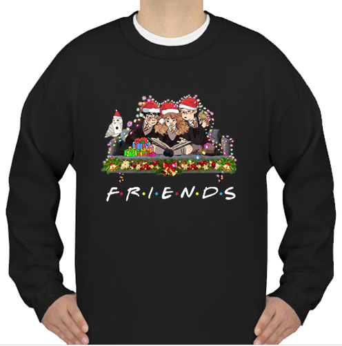 Harry Potter Ron And Hermione Friends Christmas sweatshirt