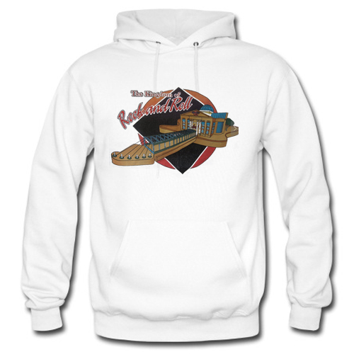 The Kingdom Of Rock And Roll hoodie