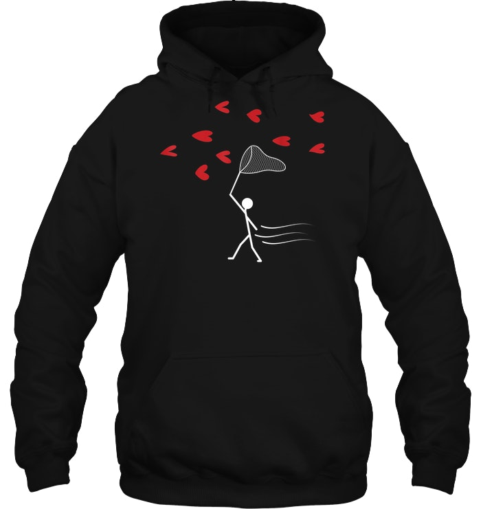 Valentine's Day You've Caught My Heart hoodie