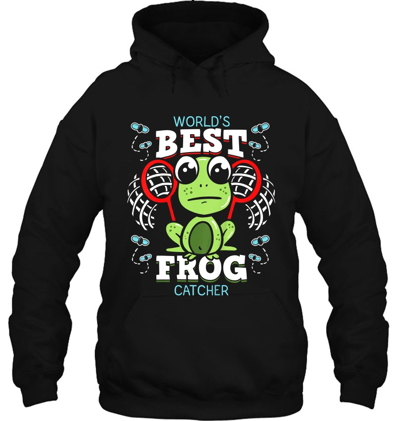 World's Best Frog Catcher hoodie