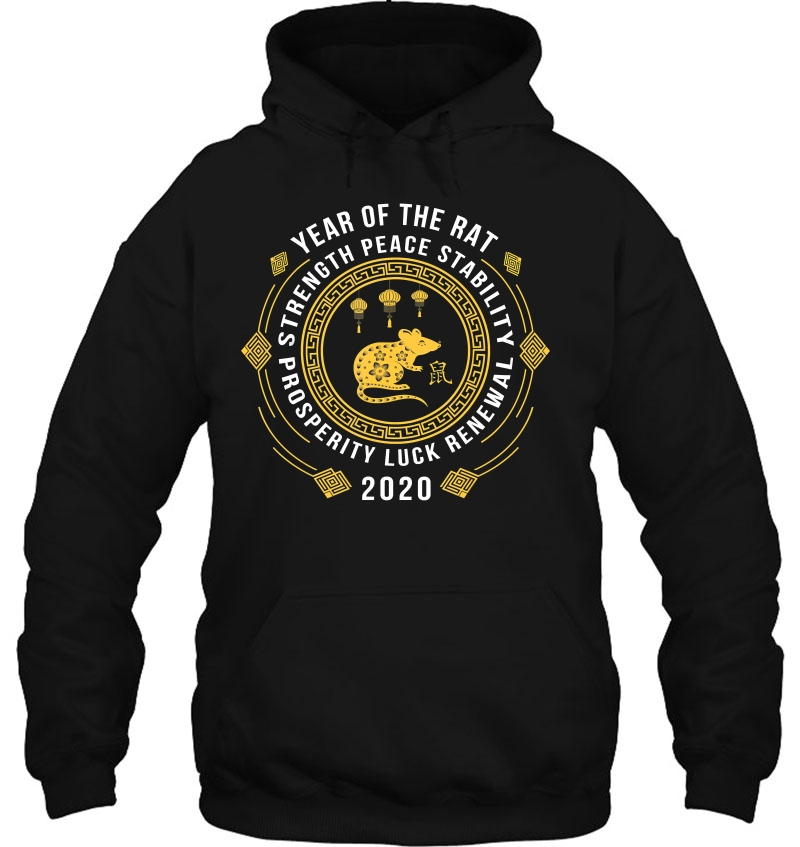 Year Of The Rat hoodie