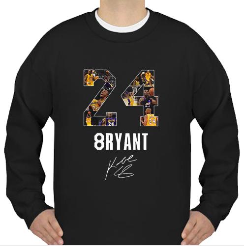 24 8ryant Kobe Bryant sweatshirt