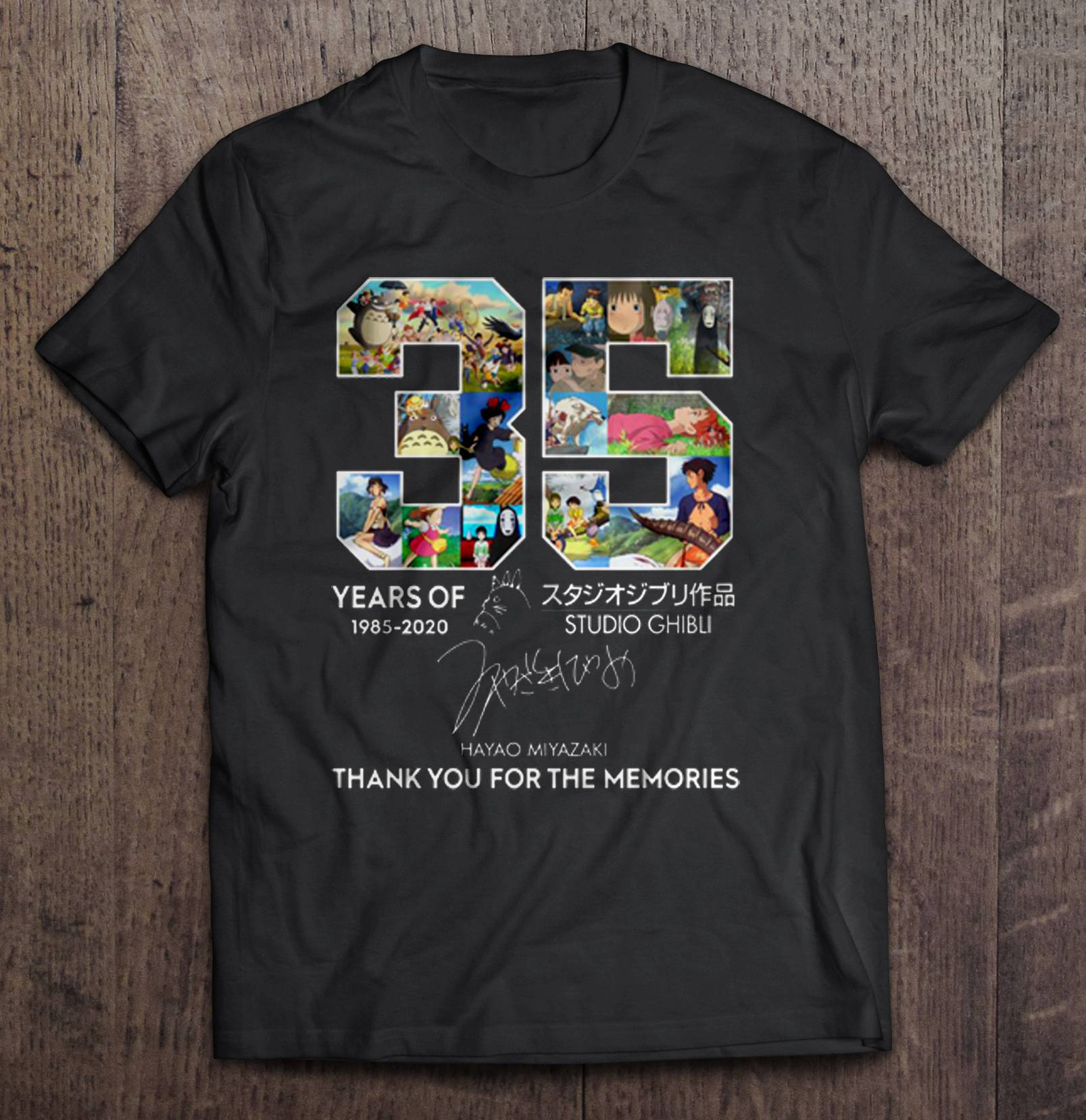 35 Years Of Studio Ghibli t shirt
