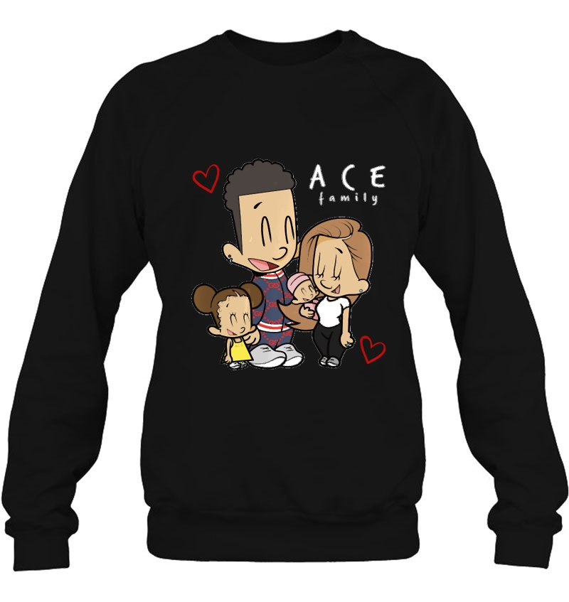 Ace Cartoon Family Merch Kids sweatshirt