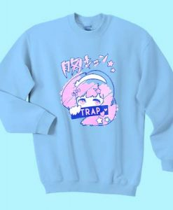 Anime Trap Girl Sweatshirt