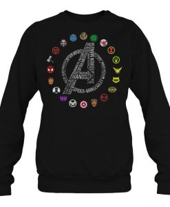 Avengers Superheroes sweatshirt