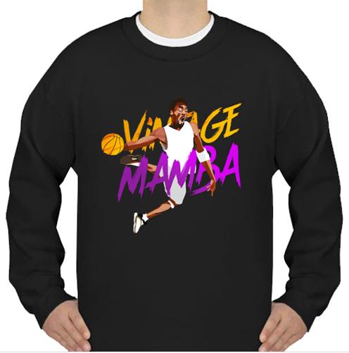 Kobe Bryant Black Mamba sweatshirt