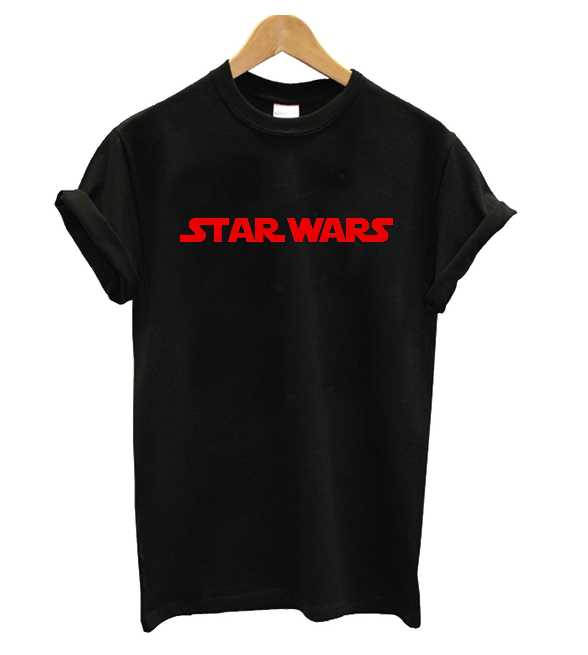 Star Wars Red Logo Tshirt