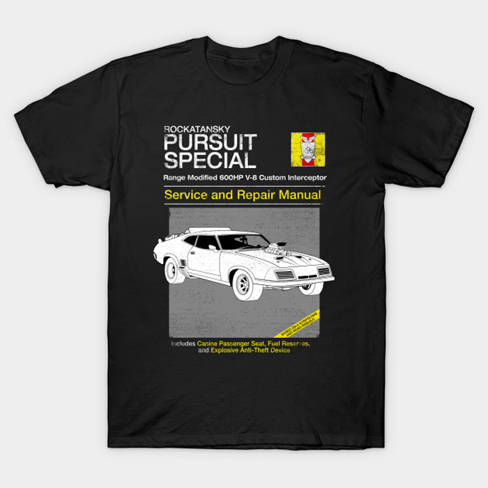 V-8 Interceptor Service and Repair T-Shirt