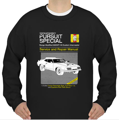 V-8 Interceptor Service and Repair sweatshirt