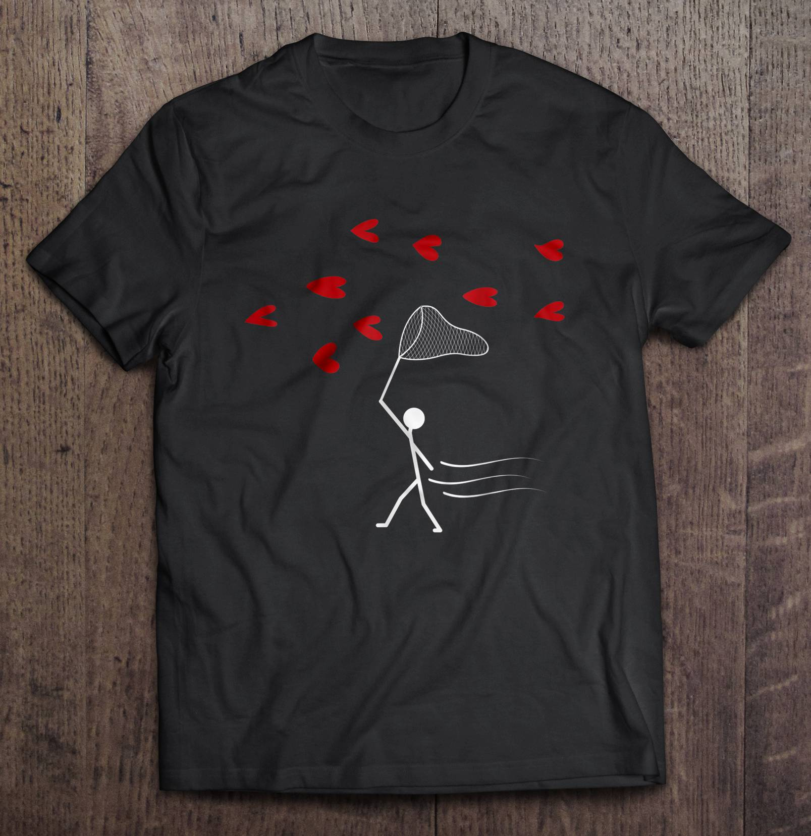 Valentine's Day You've Caught My Heart t shirt