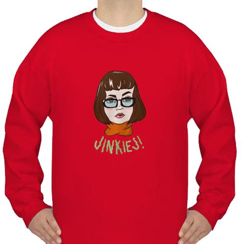 Velma Dinkley Jinkies sweatshirt