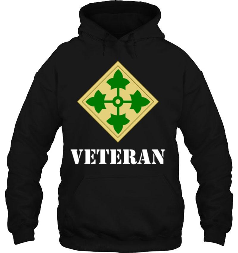 Veteran 4th Infantry hoodie