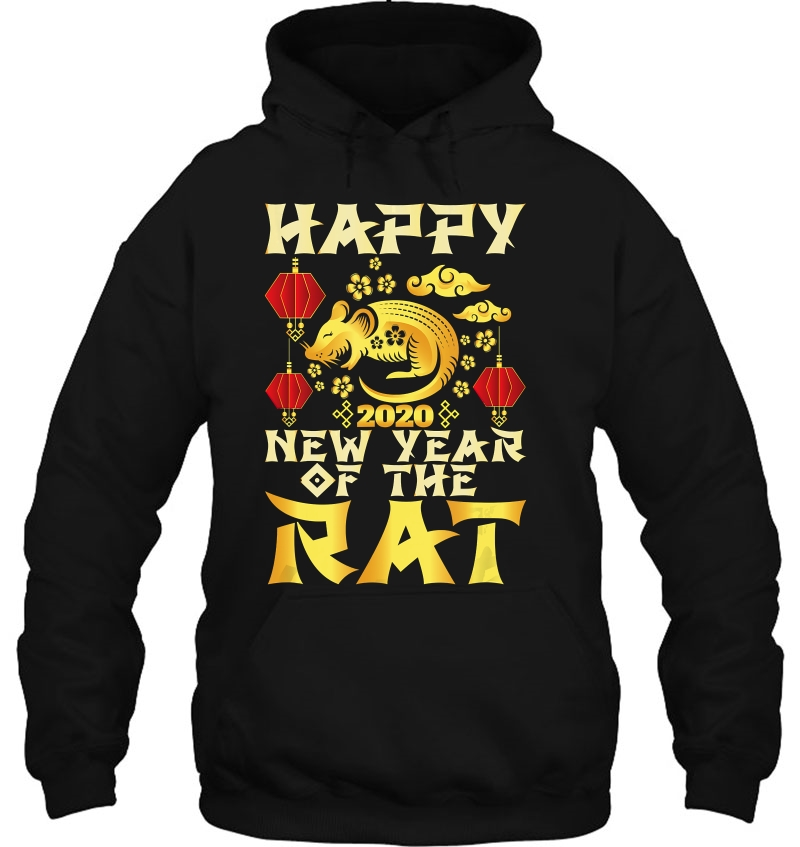 Year Of The Rat Chinese New Year 2020 hoodie
