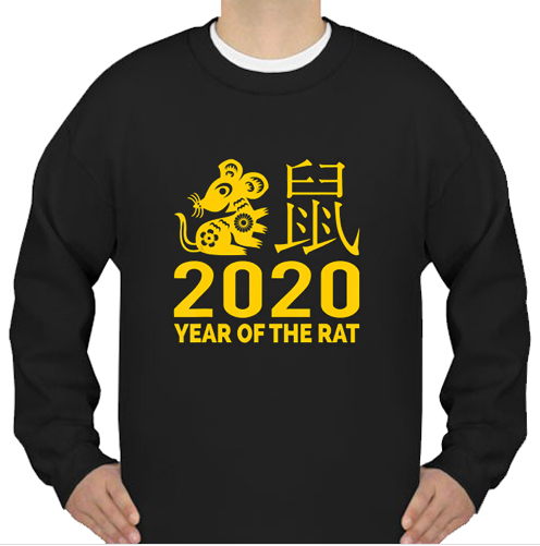Year of the Rat 2020 Chinese sweatshirt