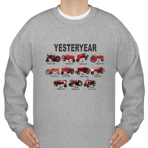 yesteryear sweatshirt