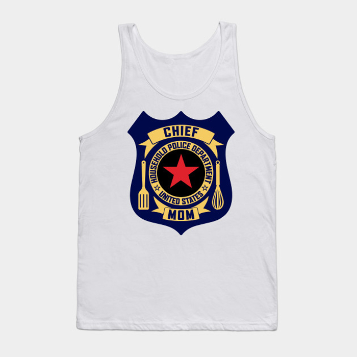 HPD chief Mother's Day Cutlery Tanktop