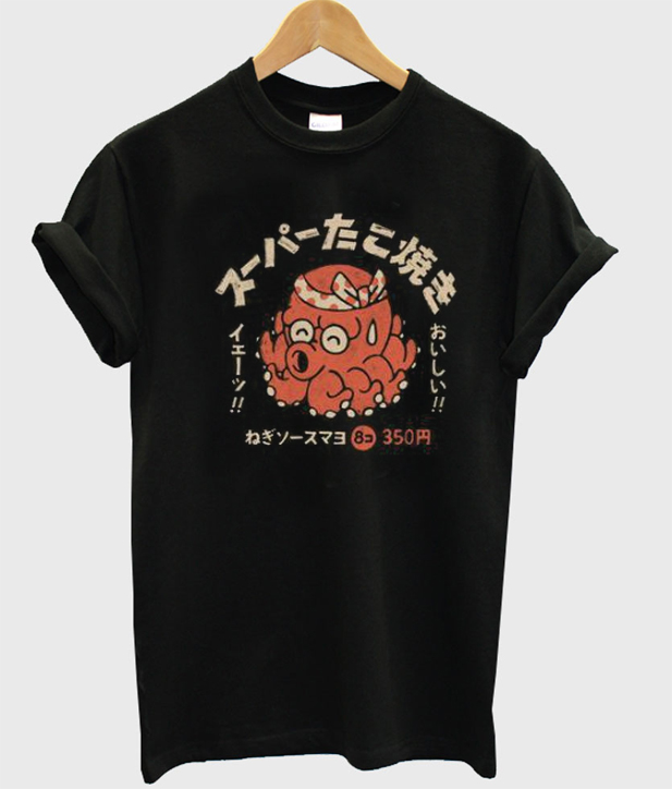 Taco Octopus Graphic T-Shirt