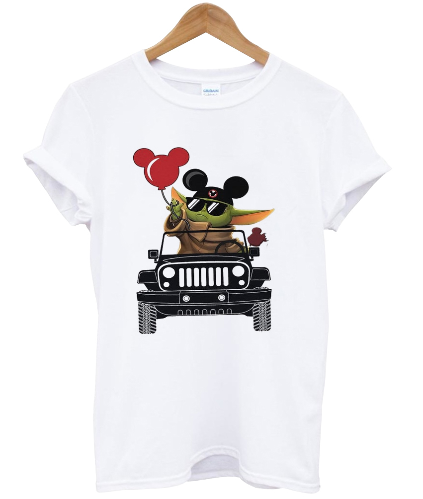 Vacay mode Baby Yoda Mickey Balloon T Shirt