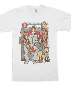 Wes Anderson Movie Heroes T-Shirt