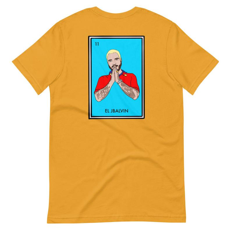 El JBalvin T Shirt Back