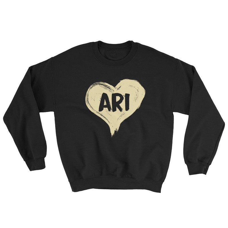 Ari Heart One Love Sweatshirt