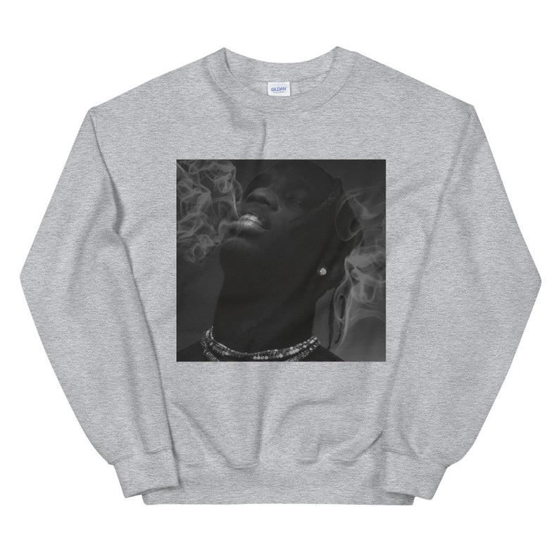 Astroworld Travis Scott Smoke Sweatshirt