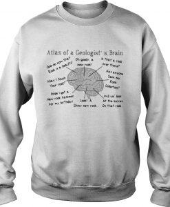 Atlas Of A Geologists Brain Sweatshirt