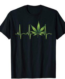 Women Marijuana t shirt