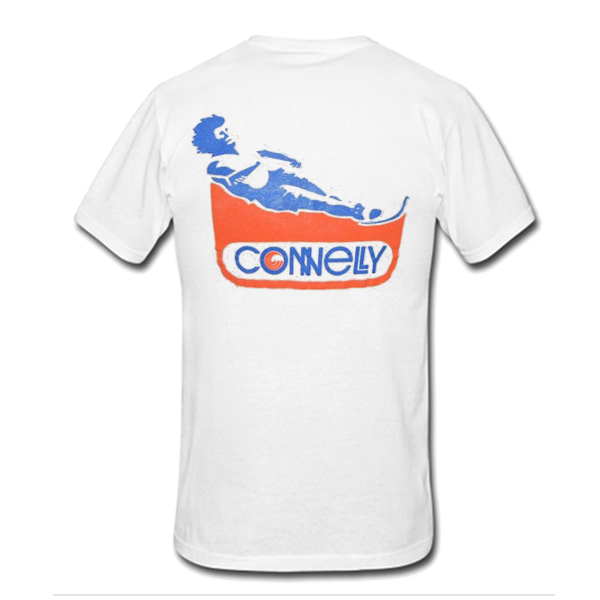 Connelly Skis Water Skiing t shirt back
