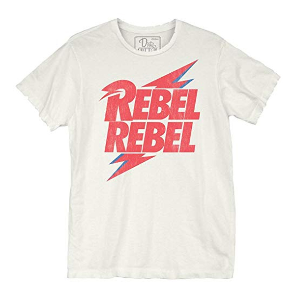 David Bowie Rebel Bolt Unisex t shirt